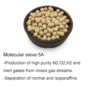 5A Molecular sieve of Double glass