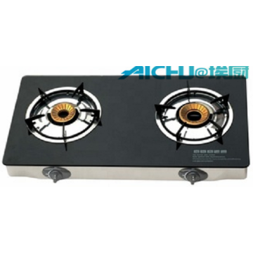 3 Burners  Tempered Glass Top Gas Stove