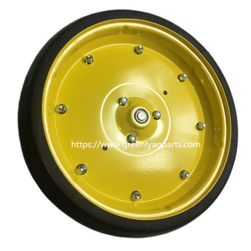 John Deere planter Gauge wheel assembly AA35392