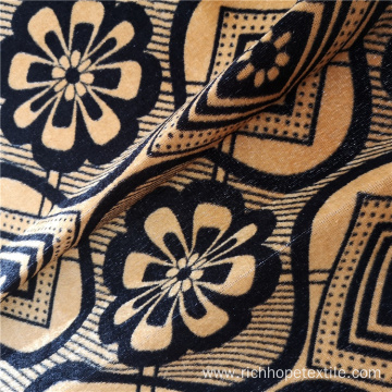 100% Polyester Weft Knitted African Print Fabric