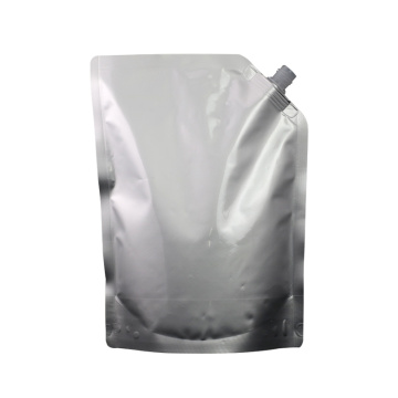Custom Logo Juice Packaging Plastic Pouch With Spout