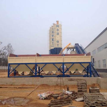 Fully Automatic 90m3h concrete batching plant
