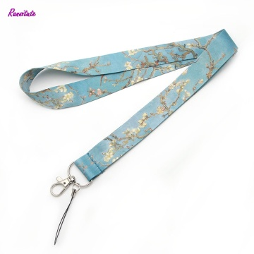 R0018 Ransitute Van Gogh's Branches Of An Almond Tree In Blossom Mobile Phone Straps ID Cards Holders Neck Straps Webbing