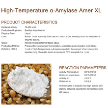 High-Temperature α-Amylase for starch sugar