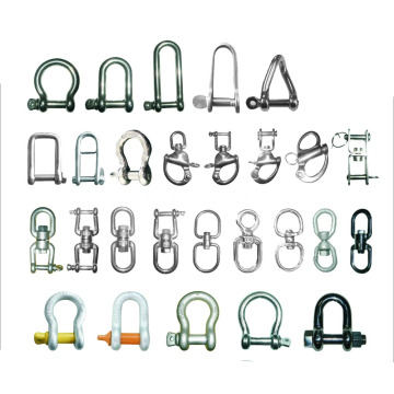 Steel D Shackle British Standard