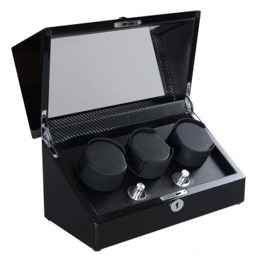 Triple Rotors Watch Winder For Display Watches