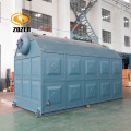 Wood Solid Fuel Straw Burning Fired Steam Boiler