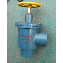 Ammonia Forged Steel Right Angle Throttle Valve