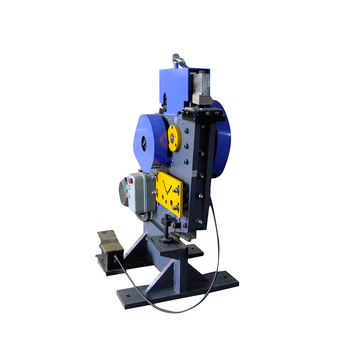 Multi-functional steel punching and shearing machine