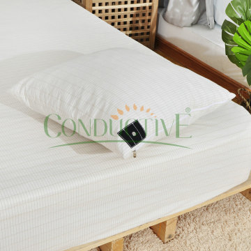 Earthed Fitted Sheet Grounded natural Conductive sheet