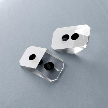 High Precision Polished Right Angle Prisms with Hole