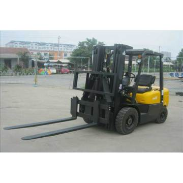 Hinged Fork Attached On The Forklift