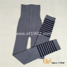 Strip Winter Boy Knitted Haramaki Long Pants