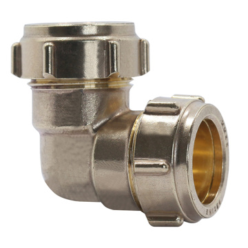 Brass Compression Elbow Fittings