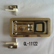 Recessed Door Handle With Lock