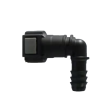 Fuel Quick Connector 9.89 (10) - ID10 - 90° SAE