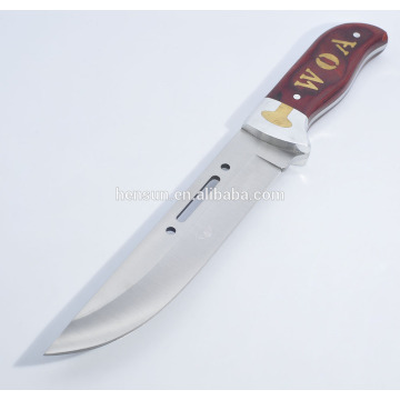 Custom Pakka Wood Handle Large Hunting Knives