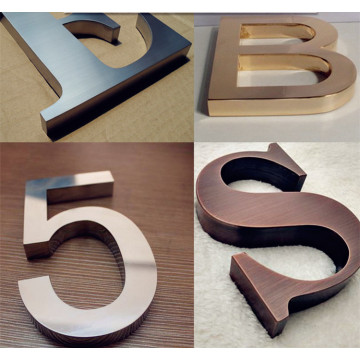 Building Stainless Steel Sign Letters Business Sign Maker