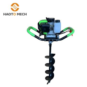 New earth auger single Tree planting digging machine