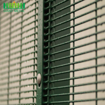 358 Anti Climb Galvanized PVC Coated Fence