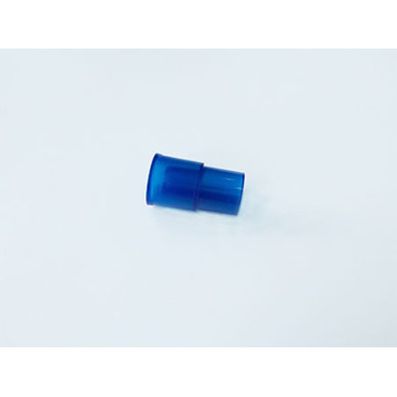 Disposable Medical plastic Straight Tube Connector Blue