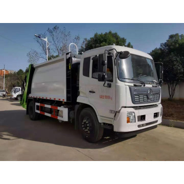Dongfeng Garbage Truck Compressed Rubbish Vehicle