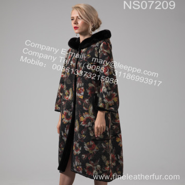 Lady Australia Merino Shearling Coat Winter