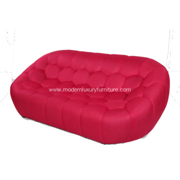 Red Bubble Sofa Designed by Sacha Lakic