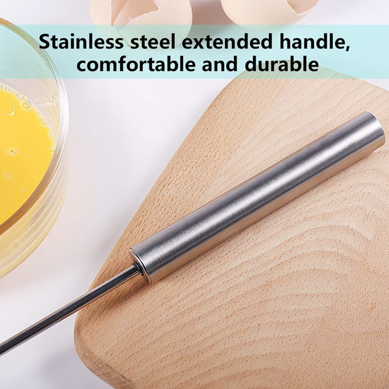 Exquisite Stainless Steel Egg Beater