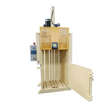 Hydraulic scrap baling press for waste paper plastic