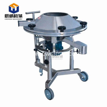 high frequency circular rotary vibrating screening machine