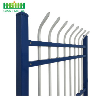 Waterproof Wall Boundary Steel Grills Aluminum Fence