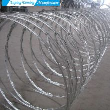 Hot Dip Galvanized Razor Barbed Wire