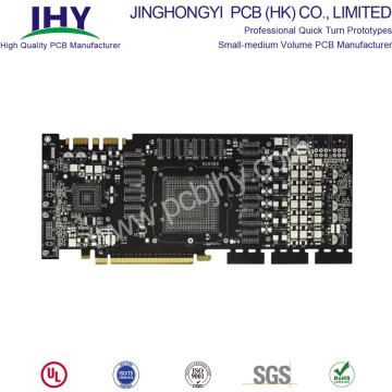 FR4 Multilayer Impedance Control PCB With Gold Fingers