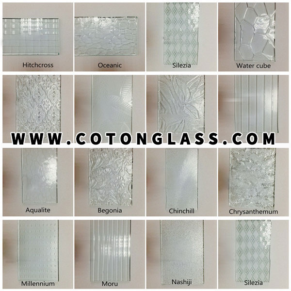 Obscure Glass Patterns For Double Glazing