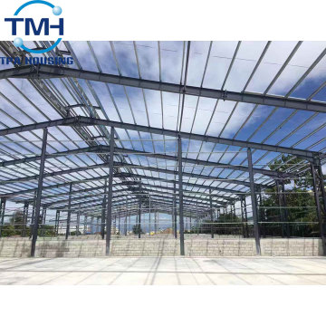 prefab warehouse light steel structure building in africa