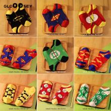 Men Socks Cotton Calf Sock Ankle Socks Hero Series Joker As Gifts