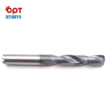 Superior solid carbide drill bits for cast materials