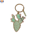Metal oem enamel keychain for promotional