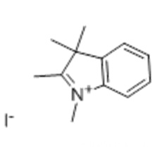 1,2,3,3-Tetramethyl-3H-indoliumiodid CAS 5418-63-3