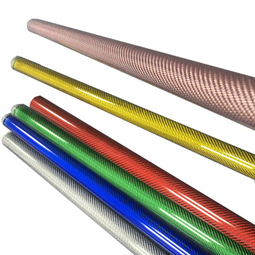 Colored Carbon Fiber Pipe