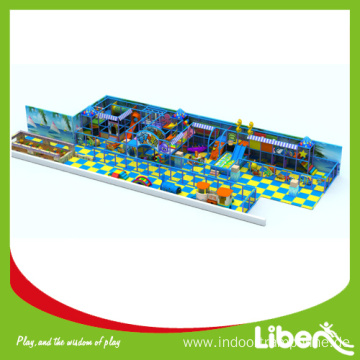 Indoor commercial playground equipment