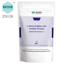 ZNSN Colistin Sulfate 10%  Soluble Powder