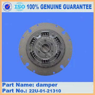 PC200-8 excavator spare parts Engine Damper 22U-01-21310