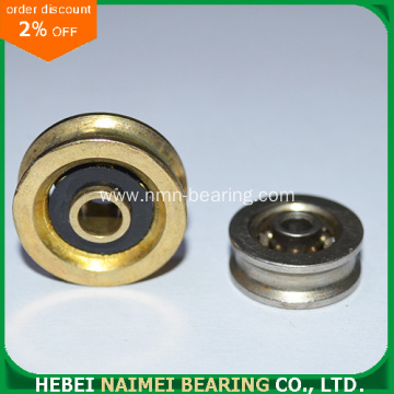 Carbon Pulley Finished By Brass/ Zinc