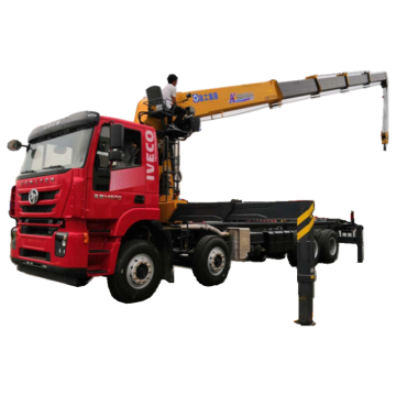 IVECO 8X4 Truck Mounted Telescopic Boom Crane16tons