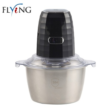 Stainless Steel Jar Food Chopper for Meat Garlic