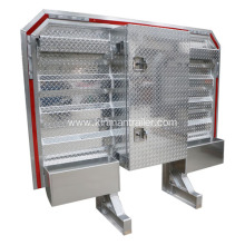 semi truck aluminum headache rack