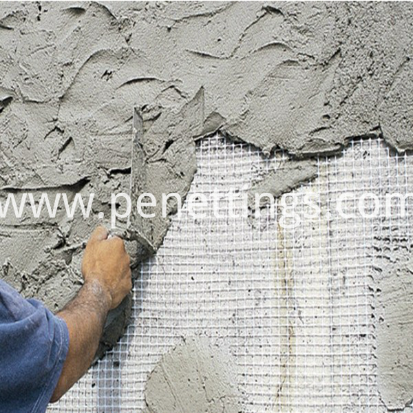 application of fiber glass mesh