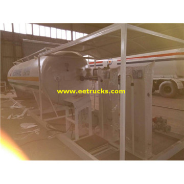 Mobile 25ton 50000L LPG Skid Plants